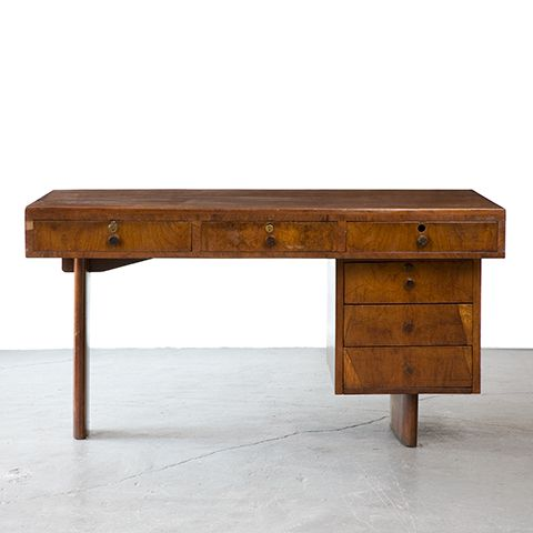 Joaquim Tenreiro; Jacaranda Desk, 1950s.