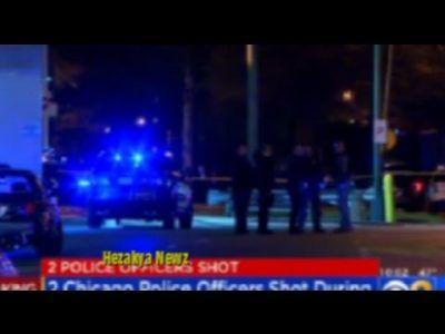 MANHUNT UNDERWAY: 2 Chicago Police Officers SHOTIn SERIOUS CONDITION!! #news #alternativenews