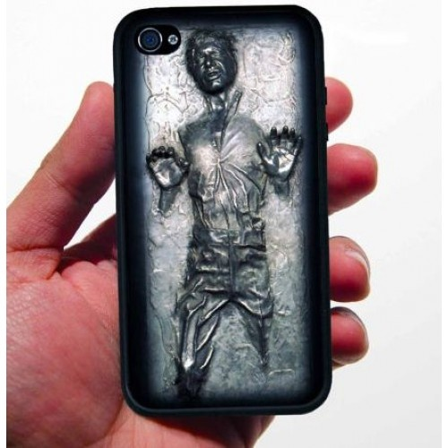 Carcasa Han Solo Carbonita iPhone 4 $12745