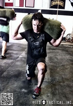 Great article and video on sandbag training and how to make your own sandbag!