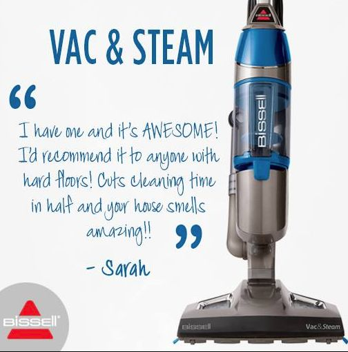 STEAMING *pun intended* into the top of the cleaning charts is our Vac & Steam! Love this feedback from Sarah. Our multi talented cleaning machine is READY to tackle your cleaning days. #steammop #vac #vacuum #vacuumcleaner #bissell #bissellaustralia