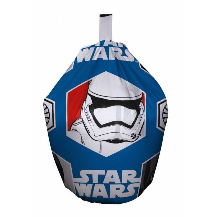 This childrens bean bag is an officialy licenced star wars bean bag.  The main colour on this star wars bean bag is deep blue. It is decorated with stromtroopers, Kylo Ren and the Star Wars logo. This Star Wars Rebels Bean Bag has Fast & Free Shipping Within The UK!!