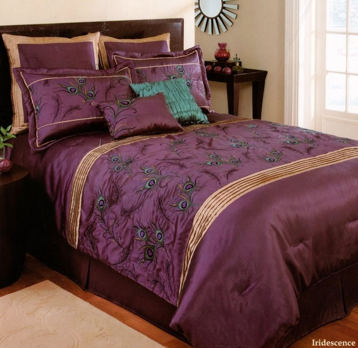17 Best Ideas About Peacock Bedding On Pinterest