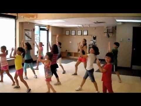 Children's Zumba to the song Boro Boro. Great movement break or indoor recess idea.
