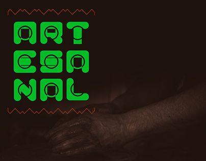 "Check out new work on my @Behance portfolio: ""Artesanal font"" http://be.net/gallery/34126893/Artesanal-font"