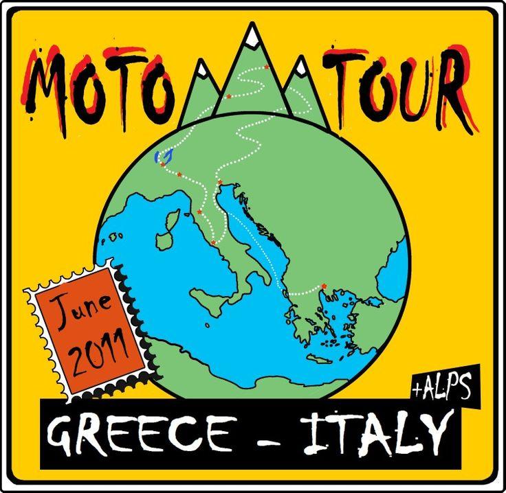Moto tour, Greece-Italy 2011