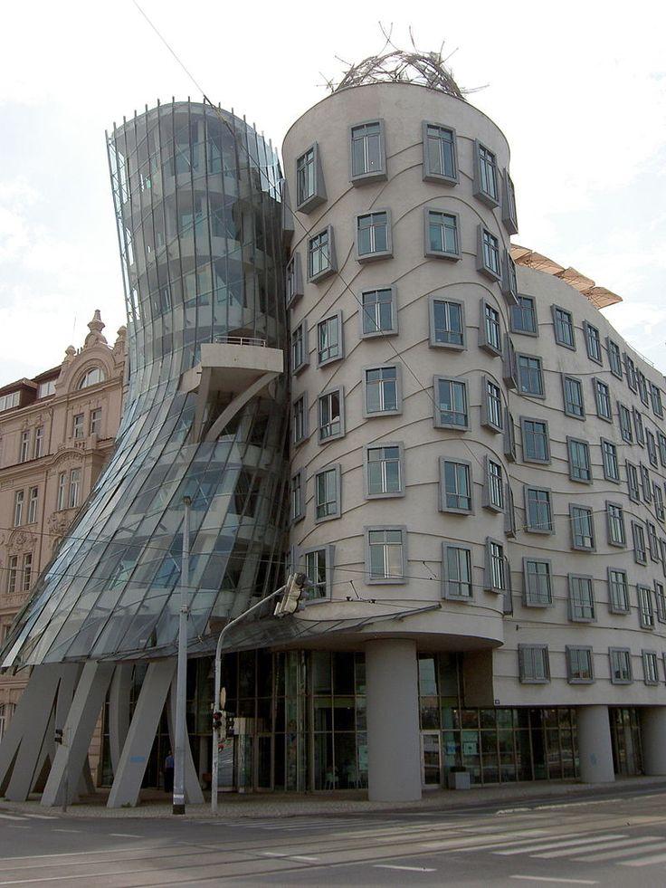Tančící dům - Frank Gehry — Wikipédia