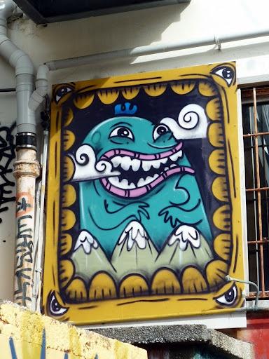 #Wellington street art