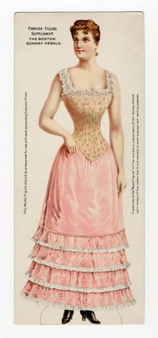 75.2363: Fashion Figure | paper doll | Paper Dolls | Dolls | National Museum of Play Online Collections | The Strong