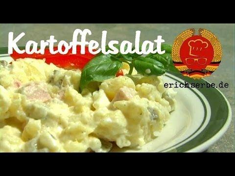 Kartoffelsalat (von: erichserbe.de) - Essen in der DDR: Koch- und Backrezepte für ostdeutsche Gerichte | Erichs kulinarisches Erbe