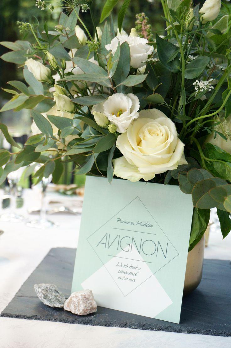 Mariage Vegetal & Mineral- Design Dessine-moi une etoile - Fleurs Aude Rose