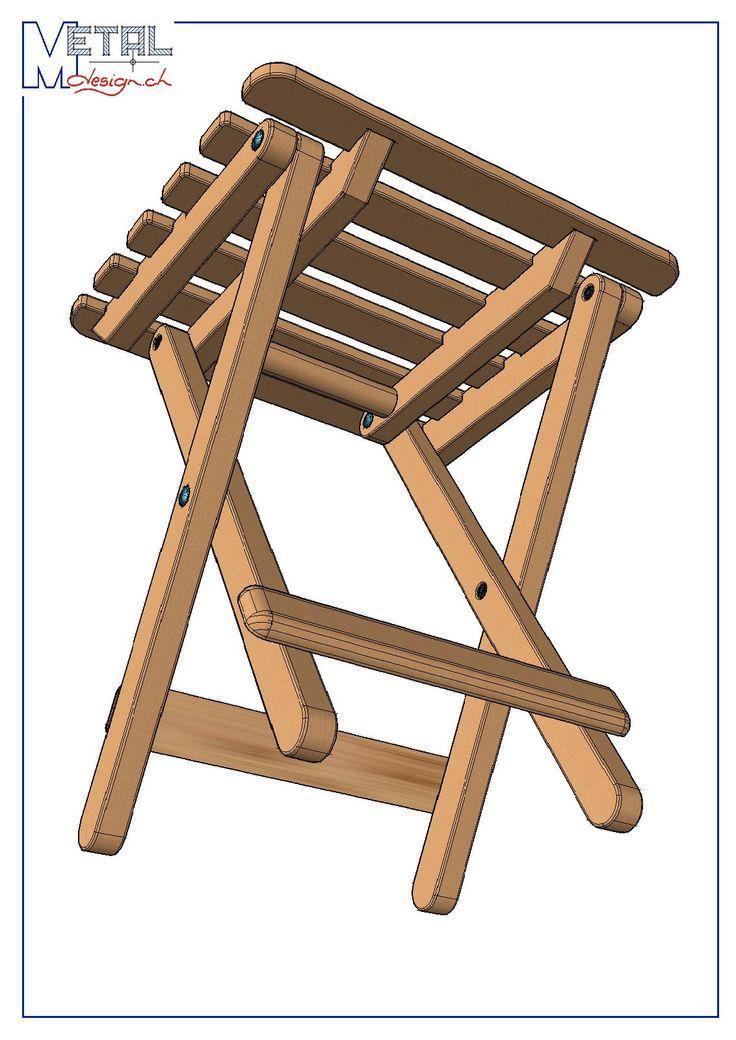 les 25 meilleures id es de la cat gorie tabouret pliable sur pinterest chaises et tabourets. Black Bedroom Furniture Sets. Home Design Ideas