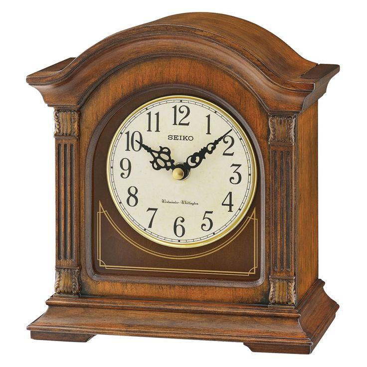 Seiko Traditional Classics 7 in. Mantel Clock - QXJ029BLH