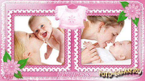 Очаровательный детский проект для ProShow Producer - Маленькая принцесса