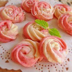 ♡母の日にも!キュートな薔薇のクッキー♡レシピ有