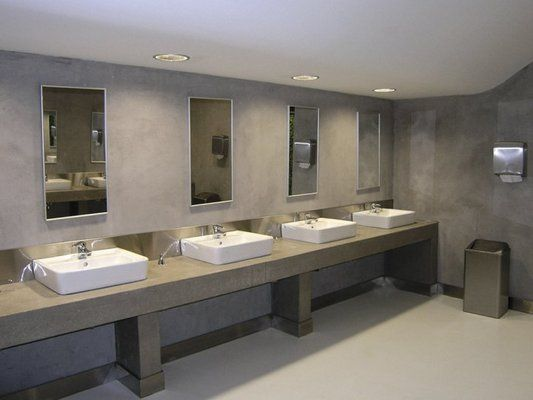 26 best restroom ideas images on pinterest restroom for Industrial bathroom ideas