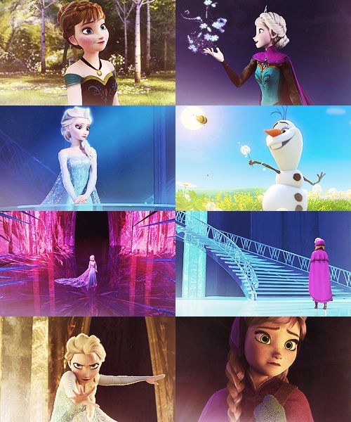 Frozen. It looks like such a pretty movie--and IDINA MENZEL! I want to hear the soundtrack just for her--TELL ME she sings.
