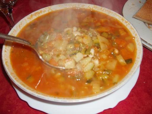 Soupe au pistou - l'authentique - Recette de cuisine Marmiton : une recette