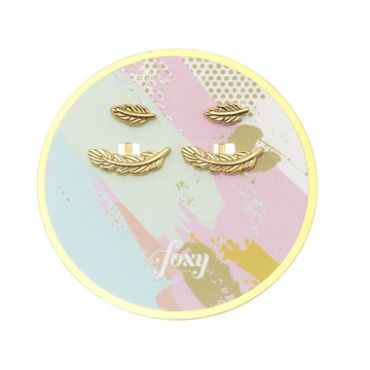 Maui Earrings in Gold - available in gold and silver.$24.00 Get 25% off these earrings with coupon code 'foxy pin' www.foxyoriginals... #goldjewelry, #goldearrings, #foxyoriginals, #earjackets, #sistergift, #goldearjackets, #jewelrygift, #cutepackaging, #holidaygift, #birthdaygift, #momgift, #goldpackaging, sister gift, jewelry gift, best friend gift, holiday gift, teenager gift, birthday gift, silver jewelry, cute packaging, gold packaging