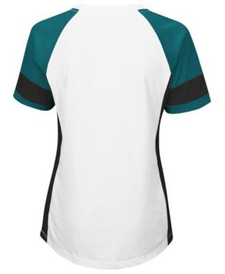 Majestic Women's Philadelphia Eagles Draft Me T-Shirt - White XL