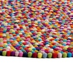 HAY - Pinocchio Multicolore, round rug for kids (and more!)