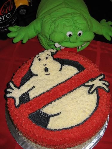 Ghostbuster cake for Noah