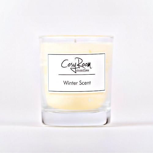 Complete your cosy nights in with the Winter Scent Aroma Candle. Using fragrance oils, this natural plantwax candle releases scents of Spiced Orange, giving yo