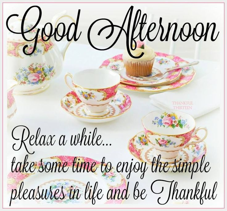 Good Afternoon Relax A While