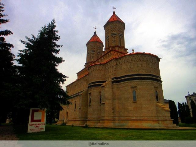 Moldavian church, Romania