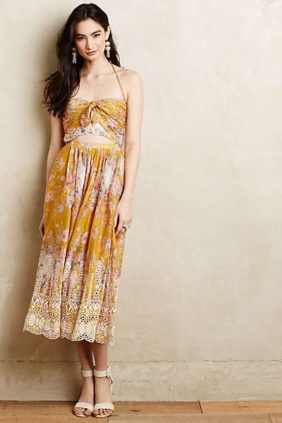 Melia Halter Dress
