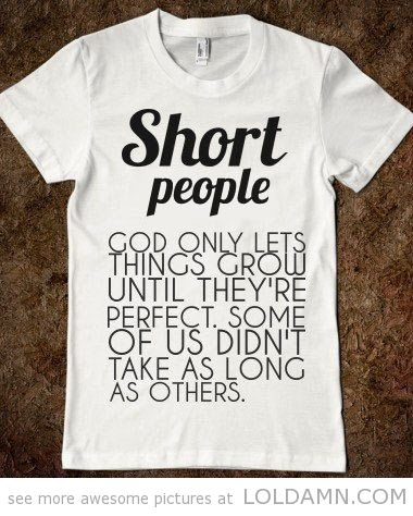 T-shirt for short people. @Style Space & Stuff Blog Kumahata This is perf for you!!