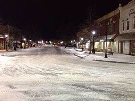 Winter of 2014 Downtown Calhoun, Georgia