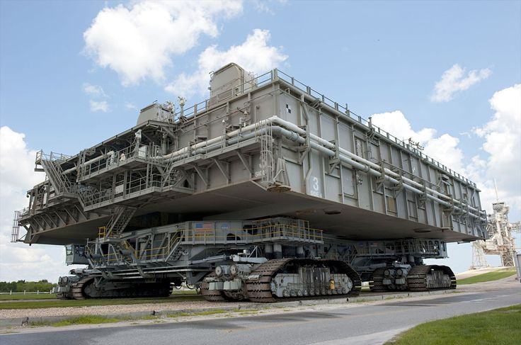 NASA Crawler!Made by Marion Power Shovel Company of Marion,Ohio
