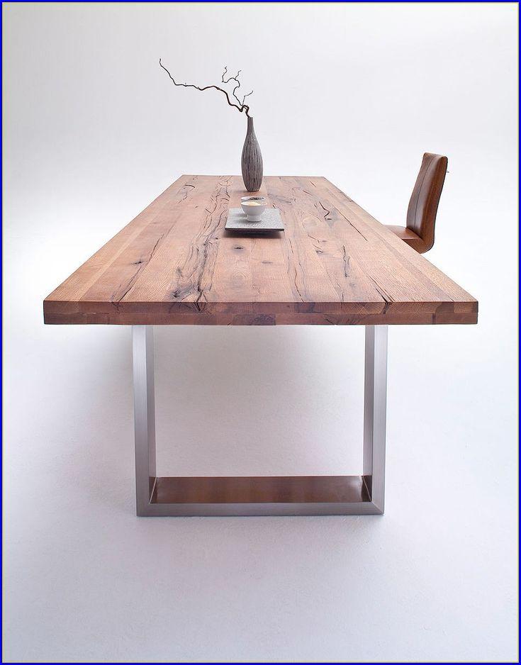 Holztisch modern  Die besten 25+ Esstisch eiche massiv geölt Ideen auf Pinterest ...