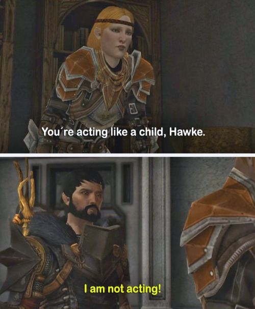 Hate to break it to ya, Aveline. But not really.