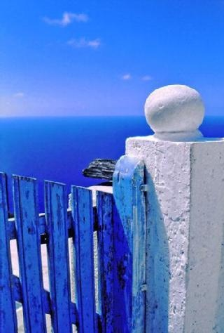 Greece, boundless blue