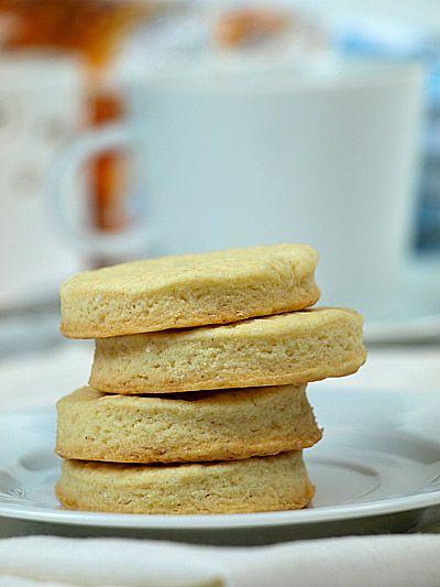 Maślane ciasteczka - przepis podstawowy