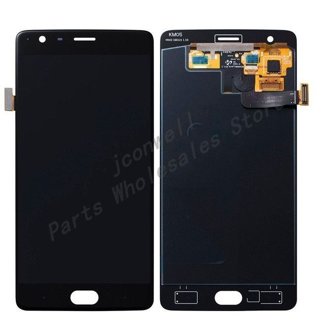 FOR Oneplus Three T Original LCD Display Touch Screen Digitizer Full Assembly Oneplus 3T A3010 LCD Assembly(5 pcs/lot) Click visit for check price #mobilephoneaccessories