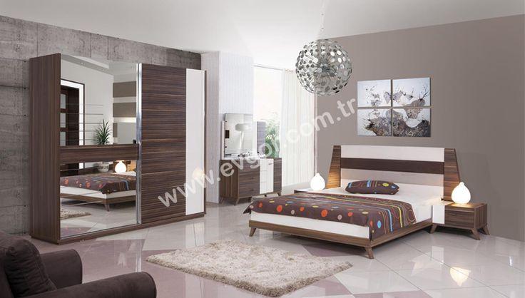 evgor.com.tr > Yatak Odaları > http://www.evgor.com.tr/K161,yatak-odalari.htm > Modern Yatak Odaları > http://www.evgor.com.tr/K166,modern-yatak-odalari.htm > Evsa Modern Yatak Odası #evgor #mobilya #yatakodasi #bedroom Hem Şık Hemde Fonksiyonel Tasarım
