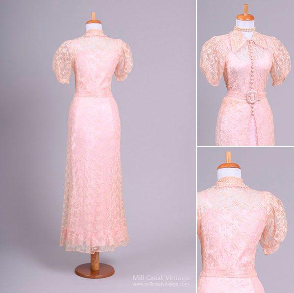 Винтажные свадебные платья в стиле 20, 30, 40, 50 х годов