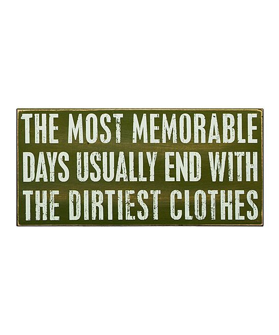 'Most Memorable Days' Box Sign   Daily deals for moms, babies and kids