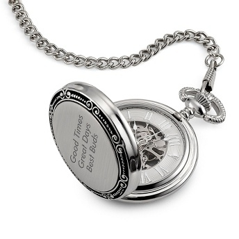 Skeleton Memento Pocket Watch at Things Remembered