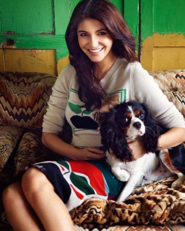Anushka Sharma in Burberry for Vogue India January 2015