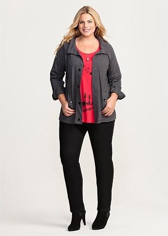 #Virtu Baseline Jacket #plussize #curvy