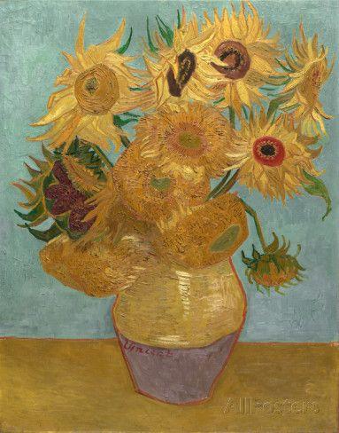 Sunflowers, c.1889 Kunst von Vincent van Gogh - 22