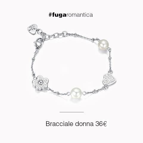 Il bracciale in acciaio, con resina, cristalli bianchi e perle sintetiche indossato da Elisa Zanetti sul suo Nameless Fashion Blog. #namelessfashionblog #elisazanetti indossa #lucabarragioielli