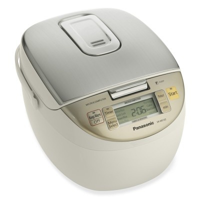 I love the Panasonic Rice Cooker on Williams-Sonoma.com