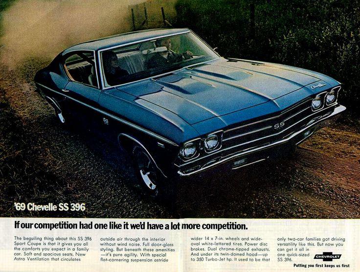 '69 Chevelle SS 396 Classic Ad