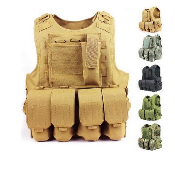 (52.99$)  Buy here - http://aiqjk.worlditems.win/all/product.php?id=32713352505 - Airsoft tactical vest military amphibious molle vest multicam ver5 modular tactical combat vest military tactical gear
