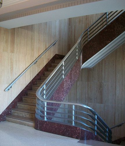 61 Best Art Deco Railings Images On Pinterest: The 63 Best Images About [=] ART DECO STAIRS [=] On